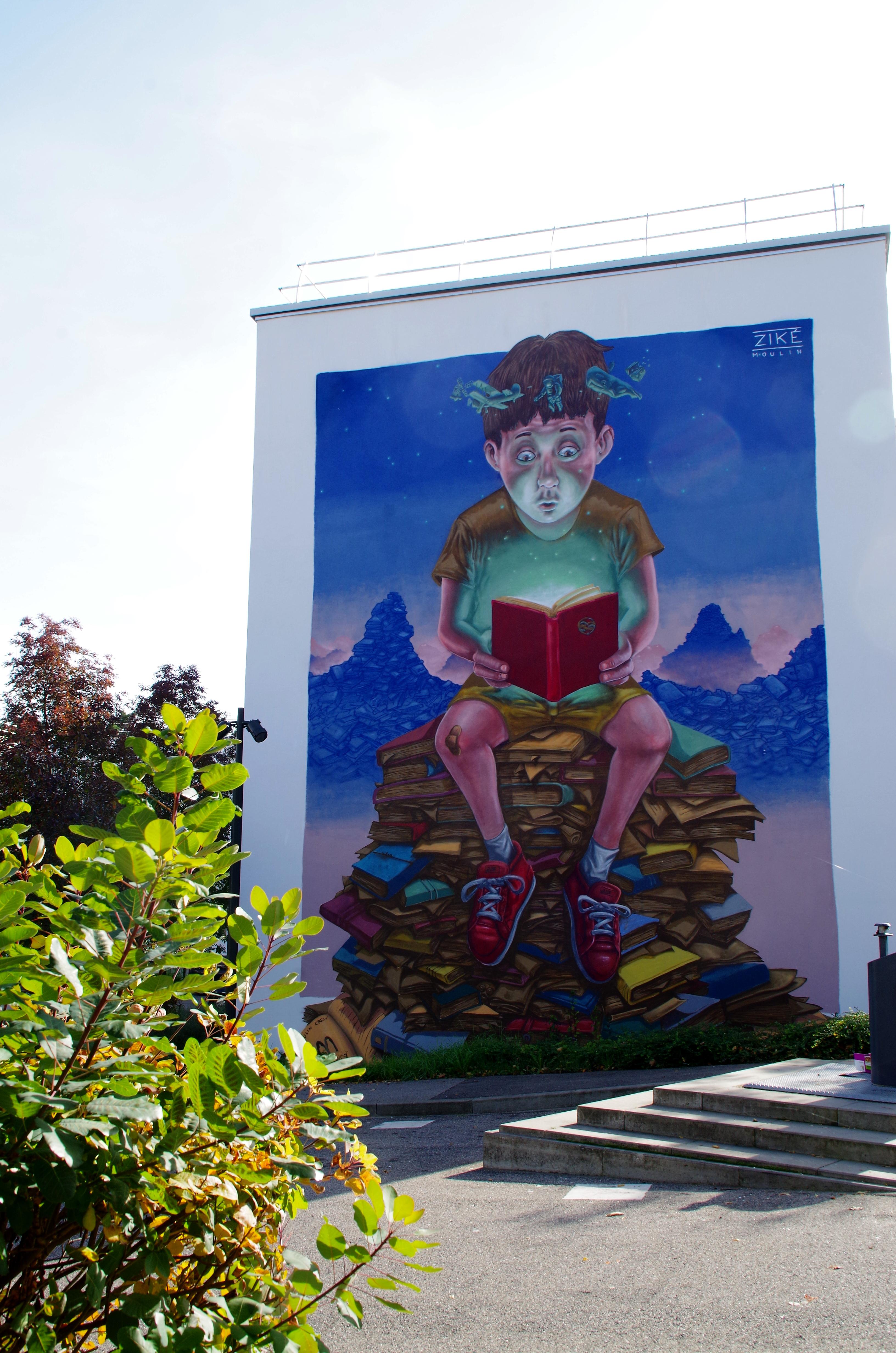 Peindre Une Fresque Sur Un Mur www.toul.fr - sur les murs
